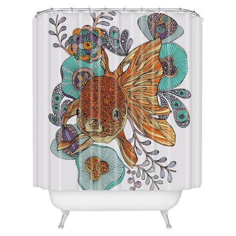 Deny Designs Little Fish Shower Curtain Shower Fish