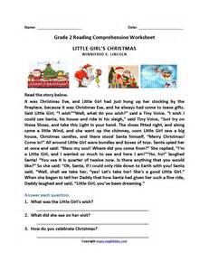 uncategorized christmas reading comprehension worksheets