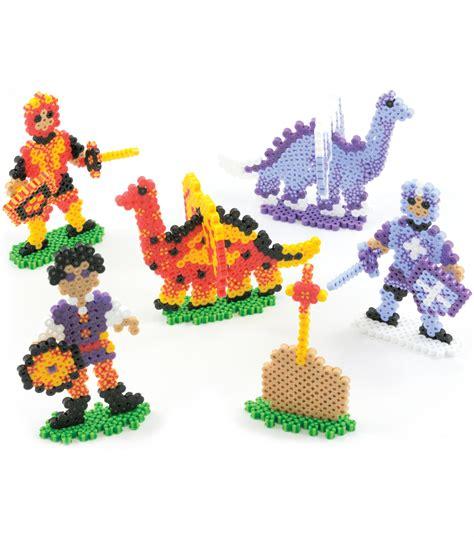 perler joann perler fusion fuse bead activity kit dragons n