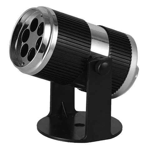 mini led stage light projector with animated blue and