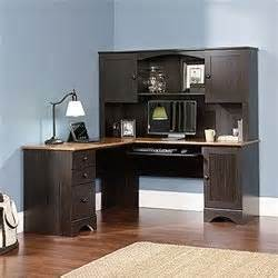 Black L Shaped Desk With Hutch Black Desk Black L Shaped Desk