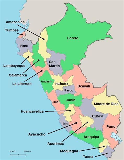 peru on the map peru map regions the only peru guide