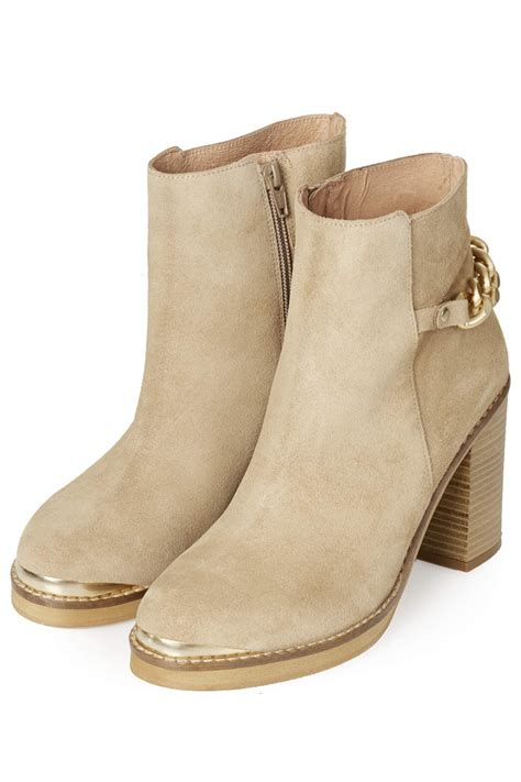 ankle boots beige boot yc
