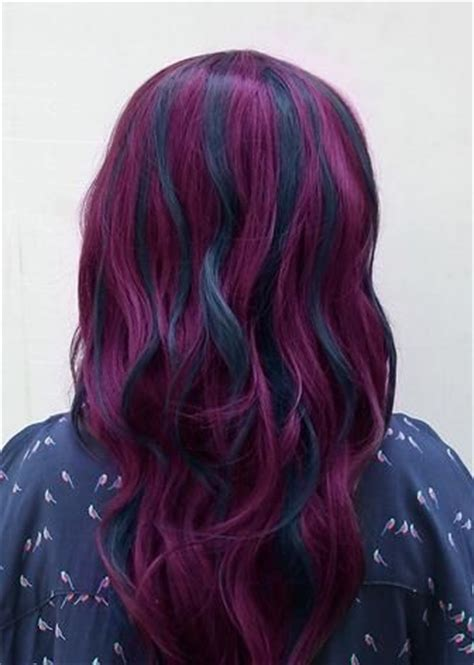 Purple And Black Hairstyles by Black And Purple Hairstyles A Gorgeous Combination The