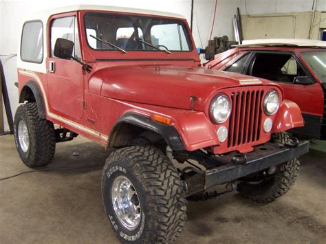 Jeep Cj7 Wheels And Tires Rudy S Classic Jeeps Llc 85 Cj7 Desert Jeep In Original