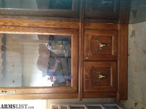 wood gun cabinet for sale armslist for sale wood gun cabinet