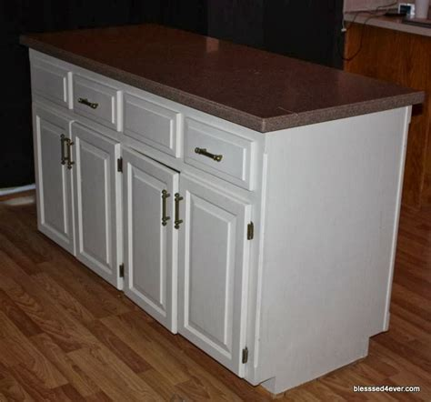 new kitchen island old kitchen island made new blessed4ever