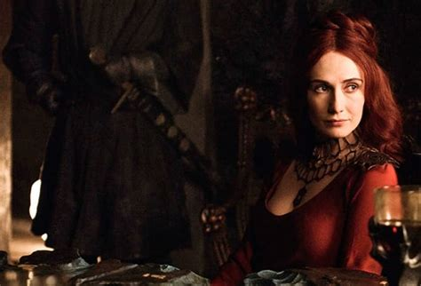game of thrones actress red woman game of thrones dicas attitude chic