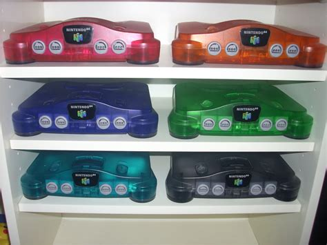 n64 console colors why the n64 is so great part ii general discussion