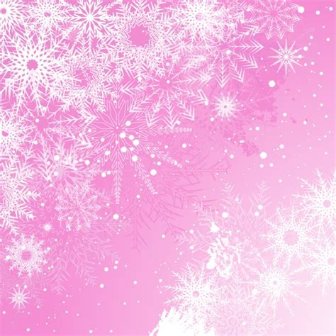 wallpaper christmas pink snowy pink christmas background vector free download