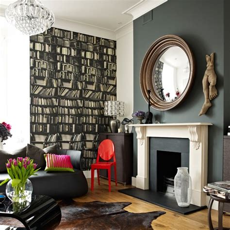 modern wallpaper ideas for living room dramatic modern living room living room designs