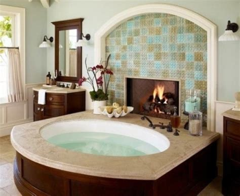 bathroom with fireplace 51 spectacular bathrooms with fireplaces digsdigs