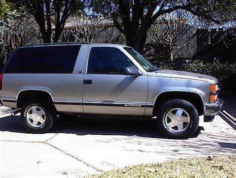 1999 2 Door Tahoe by Purchase Used 1999 Chevrolet 4x4 Tahoe 2 Door Sport
