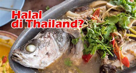 kuliner halal  thailand bikin  liburan