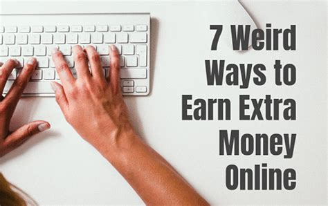 Strange Ways To Make Money Online - self made success creating success for entrepreneurs