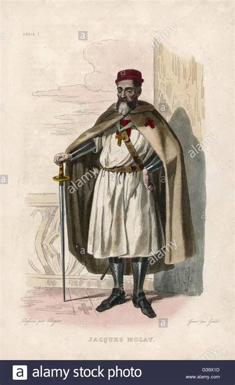 Molay Pack jacques de molay the last grand master of the knights templar burnt stock photo 105324169 alamy