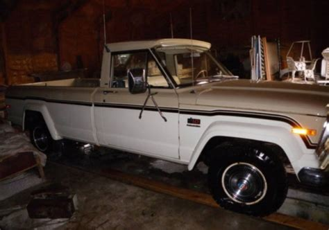1975 Jeep J10 For Sale 442 Then Parked 1 Owner 1975 Jeep J 10 Bring A