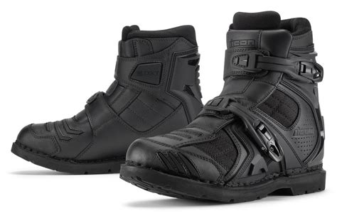 mens leather field boots 160 00 icon mens field armor 2 leather textile boots 194899