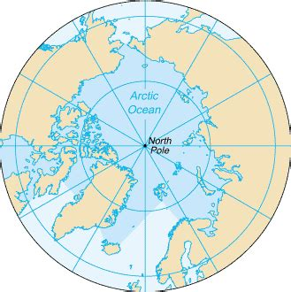 arctic ocean map map of the arctic ocean by worldatlas.com