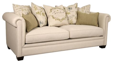 farmhouse sofa beth sofa farmhouse sofas by fairmont designs