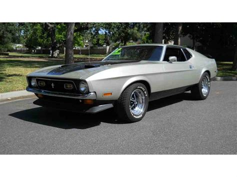 1972 mach 1 mustang for sale 1972 ford mustang for sale classiccars cc 812877