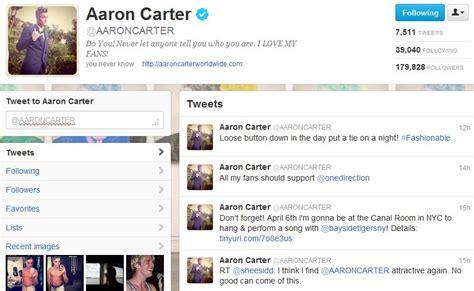aaron carter concert setlist aaron carter 2012 setlist