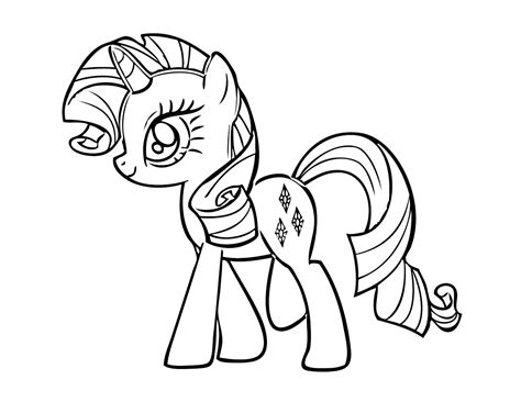 My Pony Coloring Pages Free free printable my pony coloring pages for