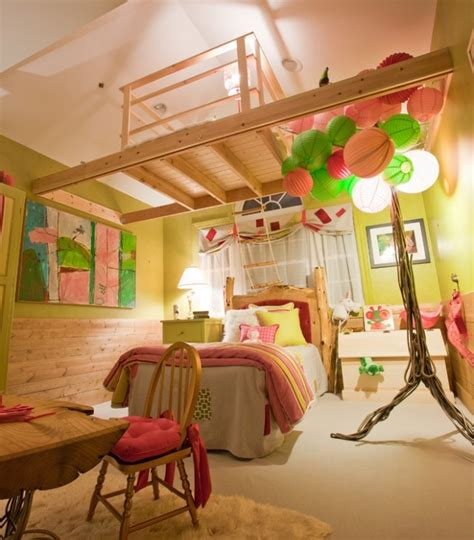 house of kids bedrooms indoor tree house for kids room unique h o m e pinterest