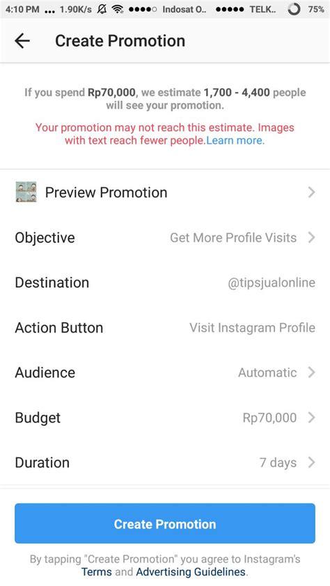 tutorial iklan instagram tutorial instagram ads menggunakan aplikasi instagram