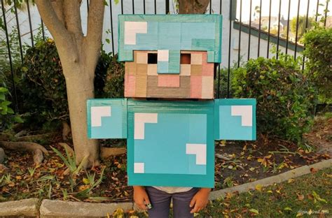 diy steve minecraft costume diy minecraft costume diy inspired