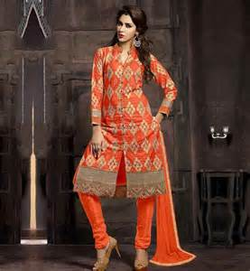 Cotton salwar kameez neck designs with collar this suit has all over