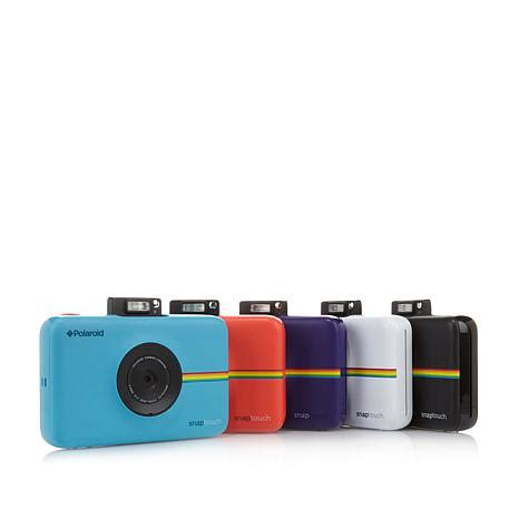 polaroid snap touch instant camera and photo printer with