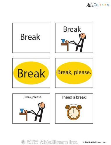 html printable page break need a break flashcards free teaching resources