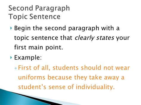 Topic Sentences For Persuasive Essays by Persuasive Essay Topic Sentence