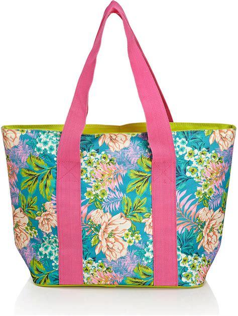 Marks Spencer Floral Print Canvas Bag by Marks And Spencer Tropical Floral Bag Shopstyle Co