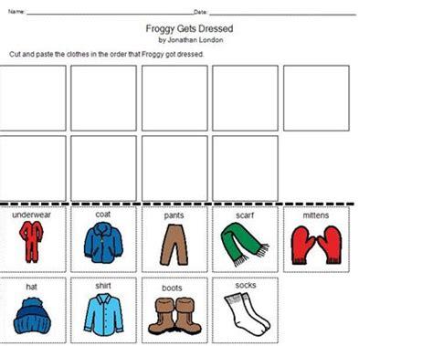 froggy gets dressed template oltre 1000 idee su englischunterricht su