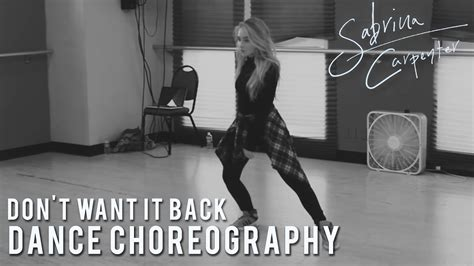tutorial dance miss a i dont need a man sabrina carpenter don t want it back dance choreography