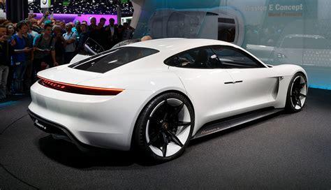 Porsche Elektroauto by Porsche Elektroauto Mission E Mehrere Leistungsstufen