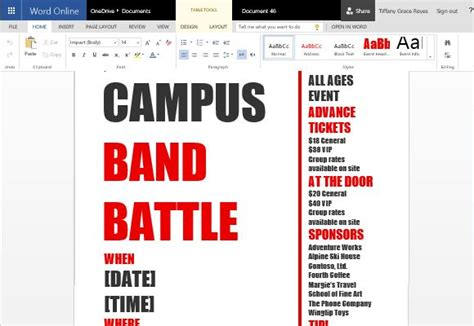half page event flyer plus word format youthmin org word template for making printable party and event flyers