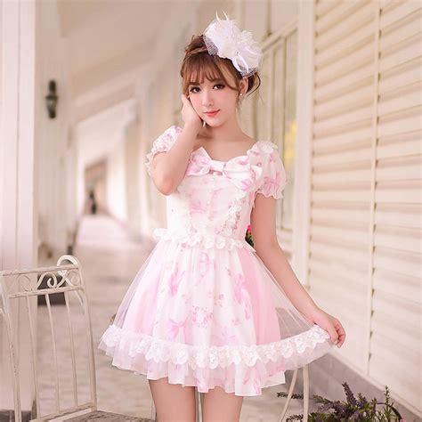 princess sweet dress candy rain summer japanese