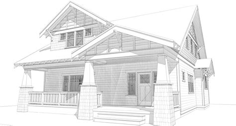 how to draw a house 2 awesome and easy way for everyone bungalow house plans bungalow company