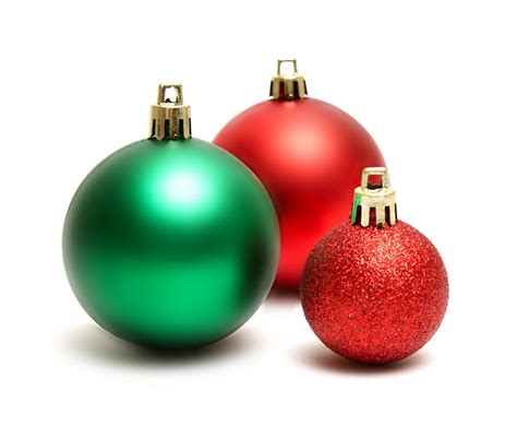red and green christmas ornaments xmasblor