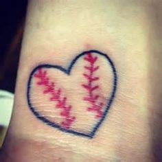heart tattoo with numbers my new baseball tattoo the numbers represent me and