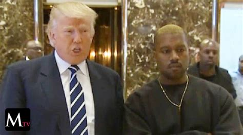 donald trump kw kanye west visit 243 a donald trump mariela tv