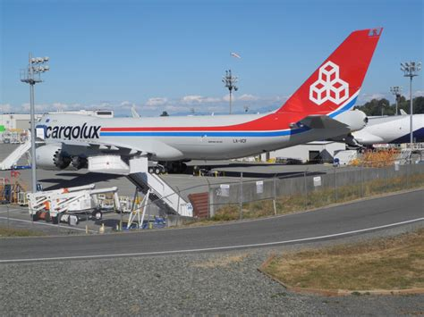 lucky escape  cargolux  fuel leaks  helicopter