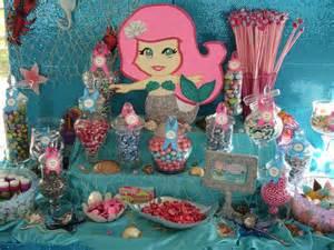 Mermaid theme birthday party ideas photo 2 of 8 catch my party