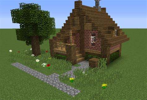 minecraft survival house small survival house 2 grabcraft your number one source for minecraft buildings blueprints