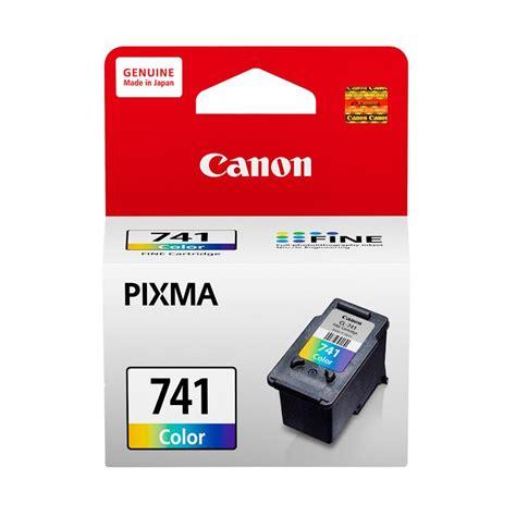 Tinta Canon Cl741 jual canon cl 741 pixma color tinta printer harga kualitas terjamin blibli