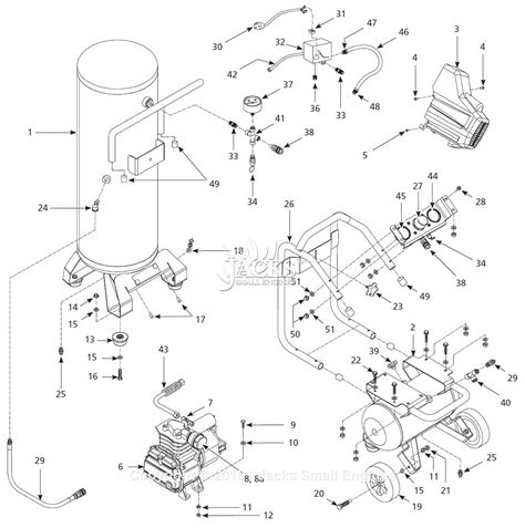 cbell hausfeld hl4421 parts diagram for air compressor parts