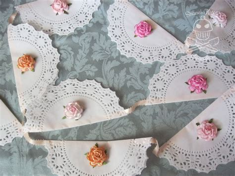 How To Make Flowers Out Of Paper Doilies - d i y shabby chic decor part 1 shane s killer